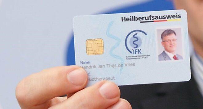 E-Heilberufsausweis